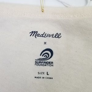 Madewell Tops - Madewell 'Long Live the Beach' Tshirt  NWT